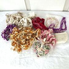 Lot of Vintage Crochet Trim Pieces - Vintage Linens