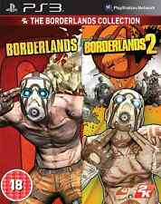 THE BORDERLANDS COLLECTION 1 AND 2 DOUBLE PACK PS3 BRAND NEW AND SEALED