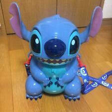 Disney Stitch  popcorn bucket with strap limited Tokyo Disneyland Japan