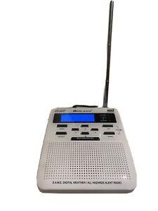 Midland Weather Alert Clock Radio S.a.m.e. All Hazards Excellent Condition