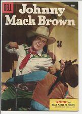 1955 Dell Four Color FC #645 Johnny Mack Brown VF/NM File Copy