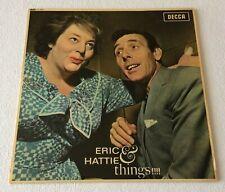 ERIC SYKES & HATTIE JACQUES ~ ERIC & HATTIE & THINGS ~ 1962 UK MONO VINYL LP