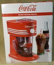 Nostalgia Electrics Beverage Coca Cola Series Shaved Ice Maker Machine Coke