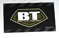 Bt Battle Tested Tactical Logo Paintball Dealer Banner 2' x 4' New free shipping