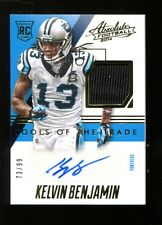 Kelvin Benjamin 2014 Absolute Tools Trade Rookie RC Auto Jersey Panther MT 26153