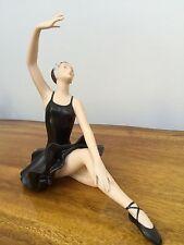 Royal Dux Porcelain Ballerina Artist Signed Pink Triangle Vintage