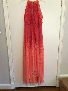 Badgley Mischka Collection Women's Coral Gown Size 8