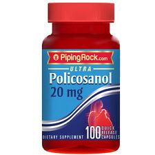Ultra Policosanol 20 mg 100 Caps - Piping Rock