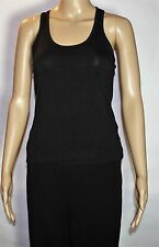 NWT Forever 21 Women's Knit Top Sleeveless S Small Black
