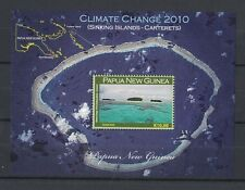 2010 Papua New Guinea Climate Change MS SG 1384 Muh
