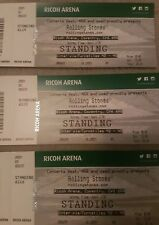 2 x Rolling Stones tickets Coventry 2nd June 2018 standing price is per ticket.