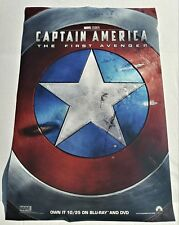 CAPTAIN AMERICA FIRST AVENGER EXCLUSIVE POSTER