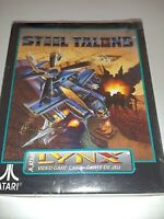 Steel Talons Atari Lynx Game Cartridge 1992 *New, Factory Sealed* CIB