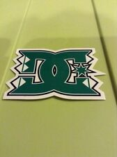 LOT OF 3 DC Shoes Sticker Decal Skateboarding 3 Inch Green Free Shipping
