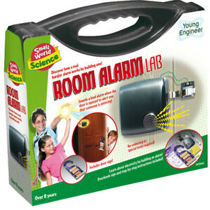 ROOM ALARM LAB  Small World Toys Science fun kit to build a working alarm
