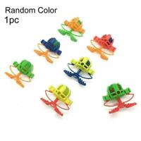 Fun Children Squeeze Toy Finger Slingshot Launch Pinball Plastic Game Q9I9