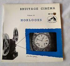 BRUITAGE CINEMA VOL 16*HORLOGES*REVEIL/MOUVEMENT DU REVEIL/CARILLON/BIG-BEN ...