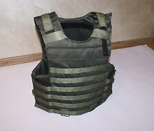 body armor plate carrier vest MOLLE Kevlar incl