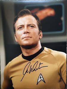 *NEW* William Shatner Captain Kirk Star Trek Signed Photo COA & Proof A