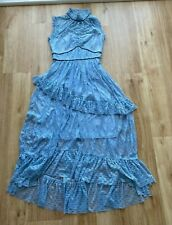 Monsoon Blue Lace Dress Size 8 - Sample, VERY RARE
