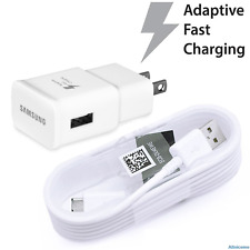 ORIGINAL SAMSUNG FAST CHARGER+MICRO USB FOR AT&T SAMSUNG GALAXY S7 ACTIVE