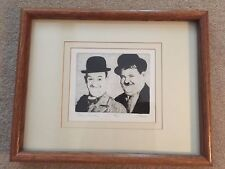 Oliver & Hardy Limited Edition Print - labeled Stan and Ollie 14/250