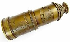 Antique Brass Telescope Victorian 1915 Marine Nautical Telescope 20 Inch Gift