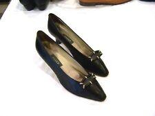 Bally black leather heels/pumps/shoes, Fern, sz. 8N