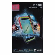 LifeProof FRE Series Waterproof Case for Samsung Galaxy S7 - Pink / Lime Green