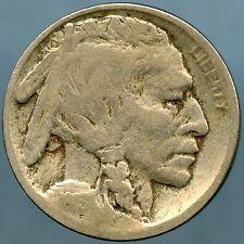 1913-D Type 2 Buffalo Nickel Very Good Condition