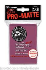1 Box 600 Ultra Pro Pro-Matte Blackberry Deck Protector Sleeves  MTG