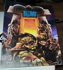 Blizzard Entertainment product catalog 2001