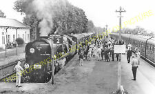Epsom Downs Railway Station Photo. Banstead, Belmont and Sutton Line. LBSCR (13)