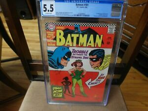 Batman 181 CGC 5.5 1st APPEARANCE POSON IVY! O/W PAGES 6/66