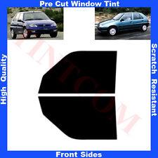 Pellicola Oscurante Vetri Auto Anteriori per Citroen Saxo 5P 1996-2003 da5% a70%
