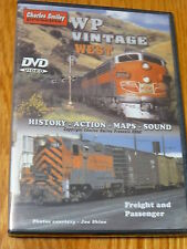Charles Smiley DVD #D-122 WP Vintage West (Freight and Passenger)