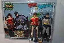 1966 BATMAN TV SERIES 2 PACK BATMAN & ROBIN 8 INCH FIGURES & ACCESSORIES NEW