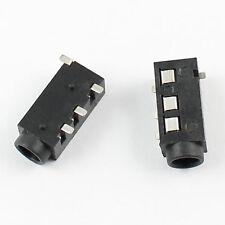 10Pcs 3.5mm Female Audio Connector4 Pin SMT Phone Jack PJ3020D