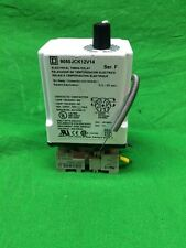 SQUARE D 240V TIMING RELAY 9050 JCK12V14 SER F