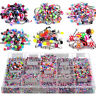 105pc Wholesale Body Jewelry Eyebrow Navel Belly Tongue Nose Piercing Bar Ring #
