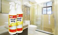 MOULD SPRAY LARGE 500ML FOAM SPRAY EASY USE OVERNIGHT KILL MOULD BATHROOM KITCHE