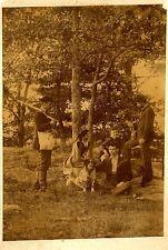 Rare Vintage Photo of Fox Hunting