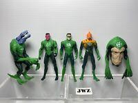 "DC - Green lantern Action Figures 3.75"" BUNDLE 2"