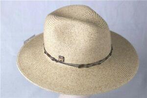NEW SEASON Unisex Men Women Panama Hat Wooden Beads details