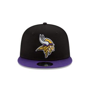 New Era 9Fifty Black/Purple NFL Minnesota Vikings 2Tone Snapback