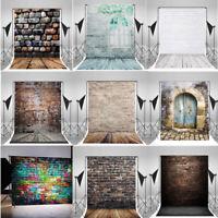 10x10FT Vintage Brick Wall Photo Backdrops Vinyl Photography Background Props LZ