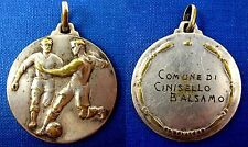 VINTAGE OLD ITALIAN FOOTBALL SOCCER CALCIO MEDAL  PENDANT  CINISELLO BALSAMO