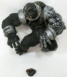 "McFarlane Spawn Cy-Gor Gorilla Broken Damaged 7"" Figure"