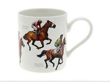 Ti stai aggiudicando POST corse di cavalli Cina Fine Tazza in Confezione Regalo Tè Caffè Jockey lp91138