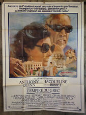Cinema-affiche originale- L'EMPIRE DU GREC -120x160-Bisset-Quinn-Thompson